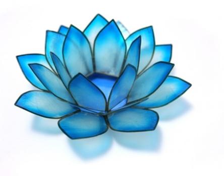 turquoise-lotus-flower-candleholder